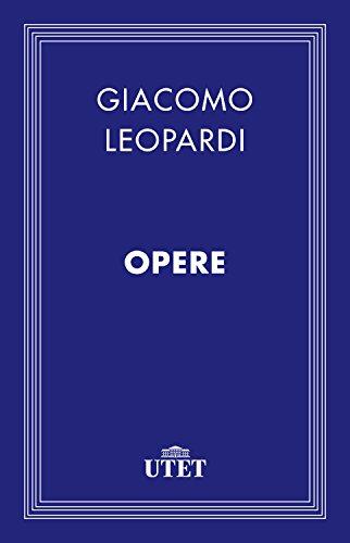 Leopardi Opere Classici della religione PDF