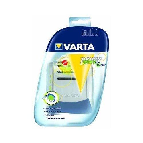 Varta Chargeur Déchargeur 4 accus LR03 / LR06 / LR20 / PP3