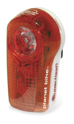 Planet Bike Blinky Super Flash 1/2-Watt Blaze Led Plus 2 Extreme Led Rear Bicycle Light back-80595
