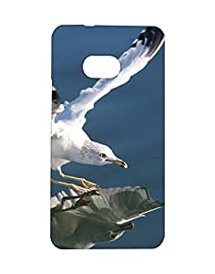 Mobifry Back case cover for HTC One Mobile (Printed design)