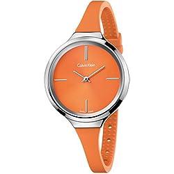 Calvin Klein K4U231YM Women's Lively Watch (Orange)