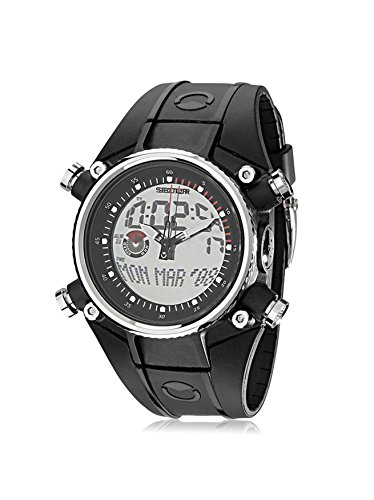 Sector Men's Black/Grey Silicone Watch
