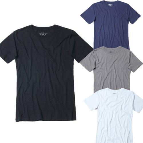 ダブルアールエル RRL Tシャツ 半袖 クルーネック シンプル Tシャツ メンズ ホワイト Lサイズ 並行輸入品 VITA447-WH-L