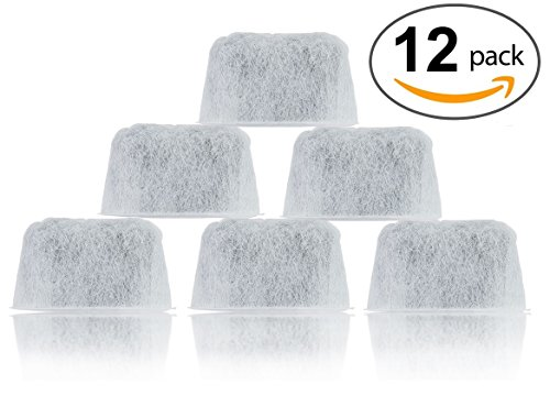 12-Pack Replacement Cuisinart Water Filters - DCC-RWF (Cuisinart Keurig Coffee Machine compare prices)