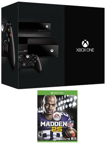 New Xbox Day One Edition Bundle with an Xbox Day One Edition Console & Madden NFL 25