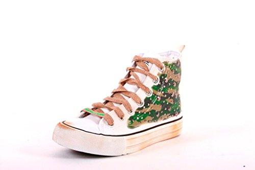 J476A FRANCESCOMILANO sneaker donna stile mimetico (35)