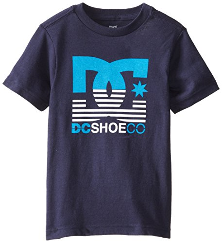 Dc Apparel Little Boys' Gone Tee, Navy, 4 front-817980