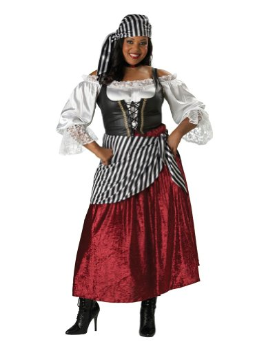 Pirates Wench Adult Xxlarge Halloween Costume
