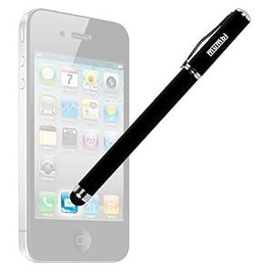 mumbi Stylus Pen - Eingabestift + Kugelschreiber für iPad, iPhone, iPod, Galaxy Tab, Galaxy S2 S3 etc. + EXTRA Ersatzmine