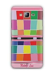 YuBingo Makeup Love Mobile Case Back Cover for Samsung On5
