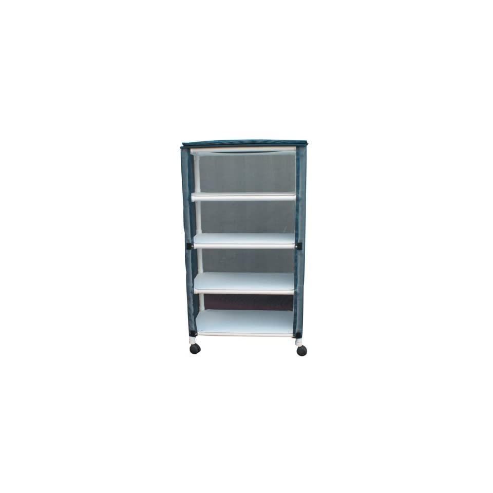 MJM International E332 4C Echo Linen Cart