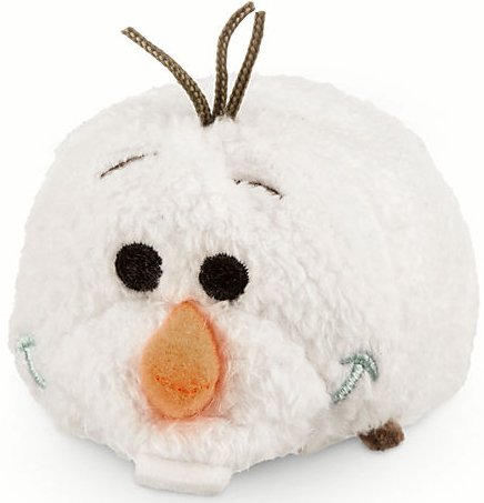 Disney Olaf ''Tsum Tsum'' Plush - Frozen - Mini - 3 1/2'' - 1