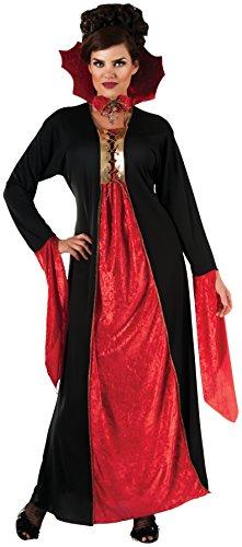 Women's womens Gothic Vampiress Costume,Multi,Standard