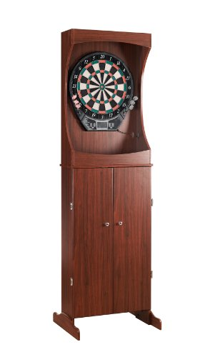 Blue Wave Freestanding Dart Cabinet