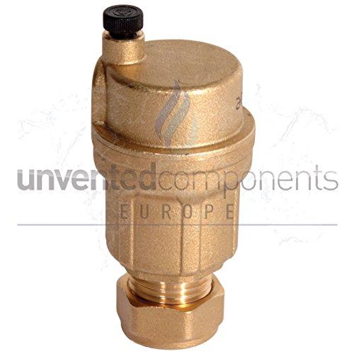 Caleffi 3/20.32 cm, Flasche, Abluftstutzen Vent Robocal, Boiler Airvent-Ventil