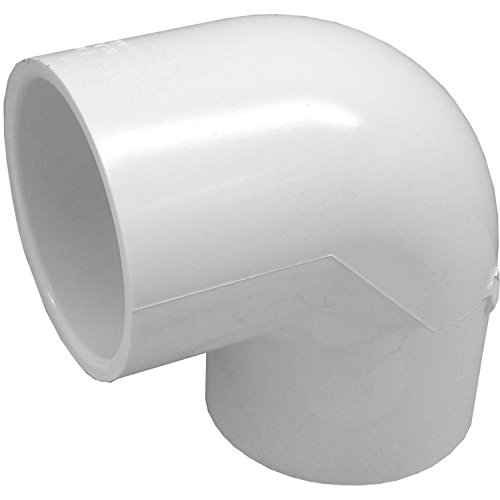 Genova Products 30707CP 3/4-Inch 90 Degree PVC Pipe Elbow - 10 Pack