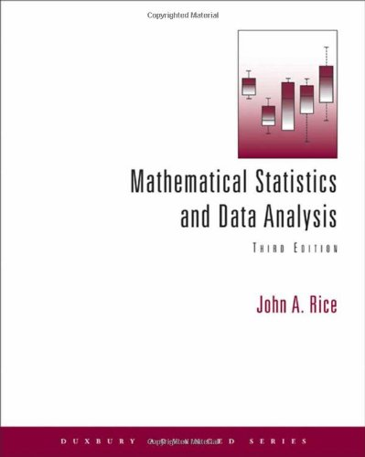 Mathematical Statistics and Data Analysis (with CD Data...
