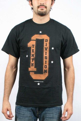 10 Deep- Skying Fly Mens T-shirt in Black , Size: Small, Color: Black