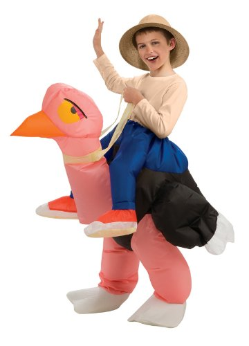 Inflatable Ostrich Costume, One Size for 5-7 Years