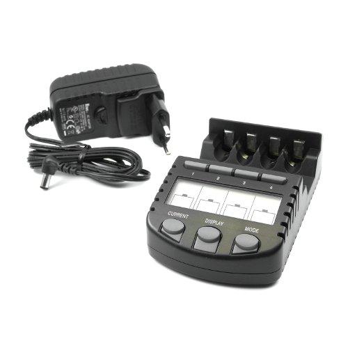chargeurs de batteries technoline bc 700 le chargeur intelligent avec 8 x piles eneloop hr. Black Bedroom Furniture Sets. Home Design Ideas