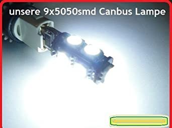 Golf 5 Lampen : Smd led standlicht lampe canbus xenon weiß vw golf plus o