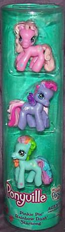 My Little Pony Ponyville Figures - Pinkie Pie, Rainbow Dash And Starsong by Hasbro
