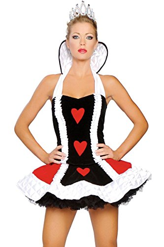 Roma Costume Women's Sexy Queen Of Hearts Sexy Queen Costumes For Women