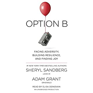 Book Cover: Option B: Facing Adversity, Building Resilience, and Finding Joy
