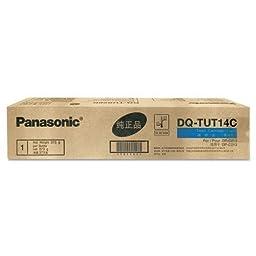 Panasonic Cyan 14000 Page Yield Toner Cartridge for DP-C213 Copier DQTUT14C by Panasonic