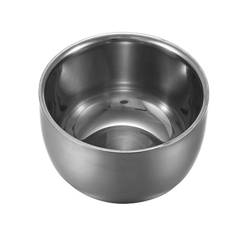 Anself Men's Stainless Steel Shaving Bowl Cup Soap Mug Cup (Shaving Brush Bowl compare prices)