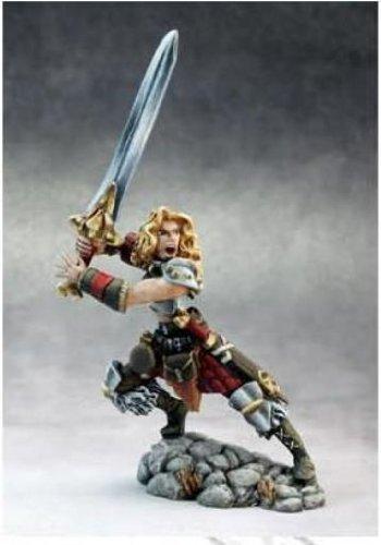 Grim Reaper miniature 3652 Dark Heaven Legend - Deenah, female Barbarian