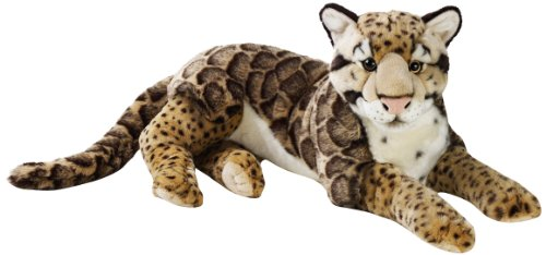 National Geographic Stuffed Animals Hand Puppet (1 Piece), Large, Leopard Nebulous