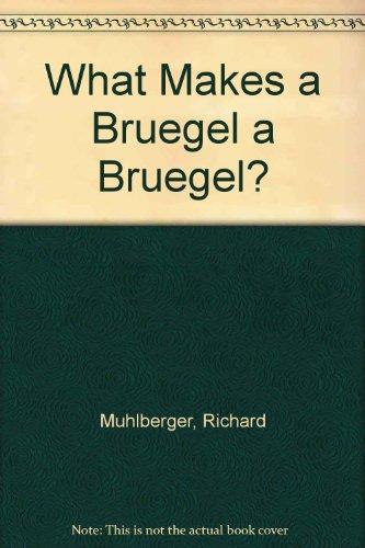 Childrens Books Reviews What Makes A Bruegel A Bruegel What