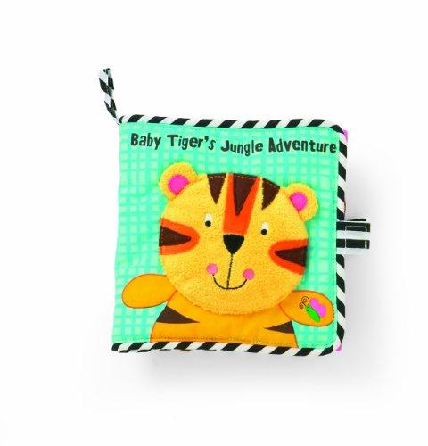 Manhattan Toy Tiger'S Jungle Adventure Book front-840852