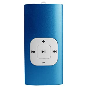 Sylvania 2 GB Clip MP3 Player (Blue)