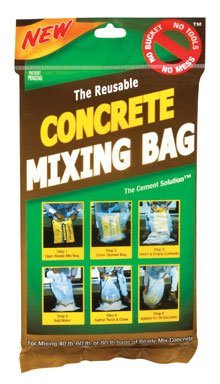 Cheapest Prices! The Cement Solution Concrete Mixing Bag 80 Lbs.