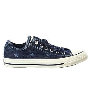 Converse Unisex Chuck Taylor All Star Ox Inked/Egret/Dark Denim Basketball Shoe 8 Men US / 10 Women US