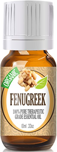 Fenugreek (Organic) 100% Pure, Best Therapeutic Grade Essential Oil - 10Ml