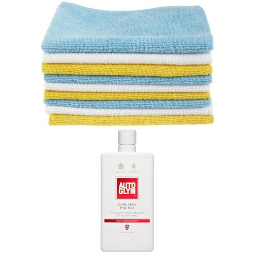 amazonbasics-microfibre-cleaning-cloths-pack-of-36-autoglym-super-resin-polish-500ml