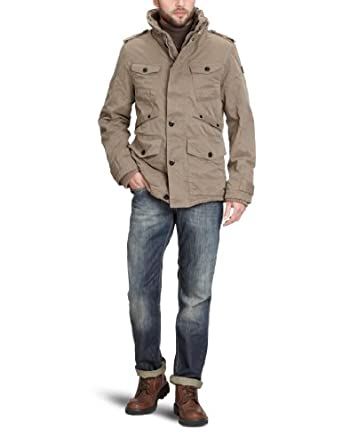 tom tailor herren jacke 35202830010 fieldjacket with teddy gr 44 46. Black Bedroom Furniture Sets. Home Design Ideas