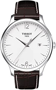 Tissot Men's T063.610.16.037.00 Dial Tradition Silver Dial Watch