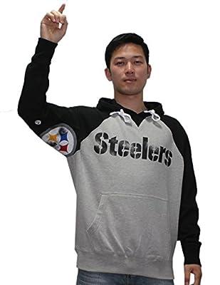 Mens NFL Athletic Pullover Hoodie: PITTSBURGH STEELERS