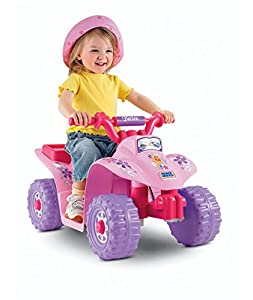 Fisher-Price Power Wheels Barbie Lil Quad