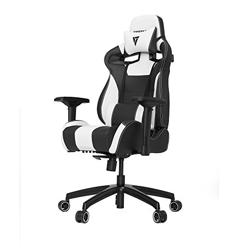 Vertagear S-Line SL4000 Racing Series Gaming Chair - Black/White (Rev. 2) (Girls Gaming Chair compare prices)