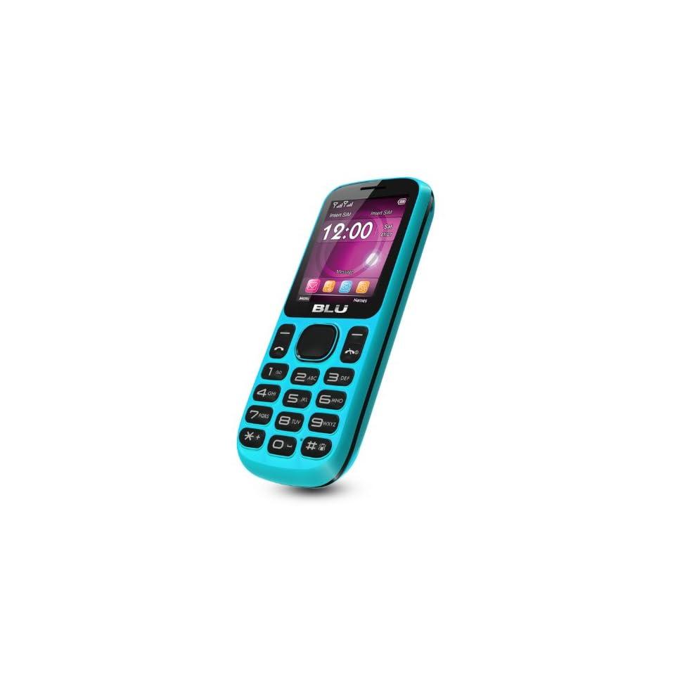 BLU T172i Jenny Unlocked Phone   US Warranty   Blue Cell Phones & Accessories