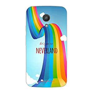 Designer Phone Covers - Moto G2-neverland