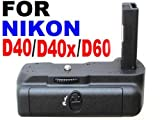 Neewer Vertical Battery Grip for Nikon D40/D40X/D60/D3000