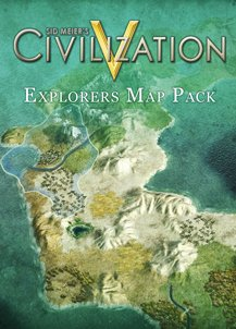 Sid Meier's Civilization V Explorers Map Pack DLC [Online Game Code]