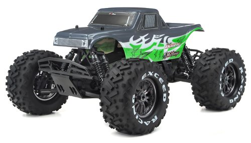 1/8Th EP Mad Beast Monster Truck Racing Edition Ready to Run w/ 540L Brushless Motor/ ESC/ Lipo Battery (Green)