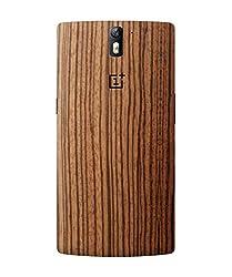 dbrand Zebra Wood Back Mobile Skin for Oneplus One